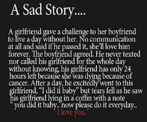 sad and story image