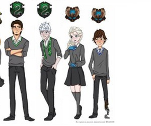 brave, jelsa, and rotg image