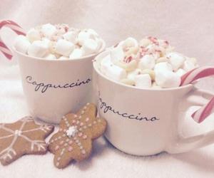 christmas, winter, and coffee image