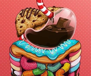 food, sweet, and wallpaper image