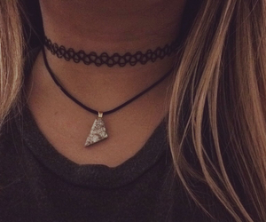 accessories, grunge, and choker image