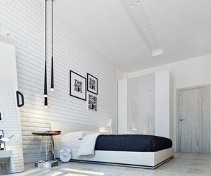 bedroom, cool, and design image