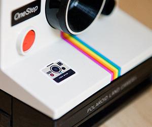 camera and polaroid image