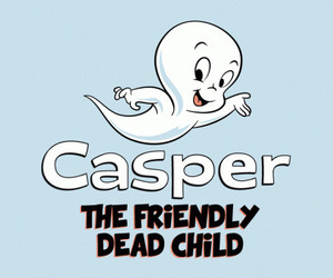funny, ghost, and casper image