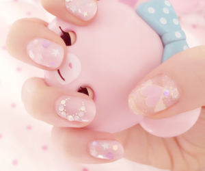 art, kawaii, and nails image