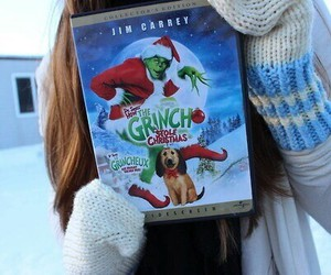 movies, snow, and thegrinch image