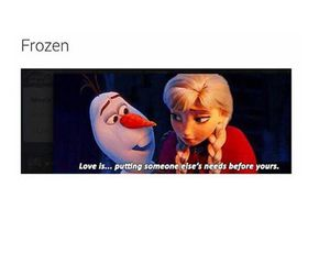 frozen, olaf, and love image