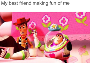 buzz, fun, and pink image
