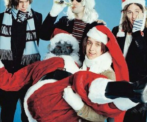 the strokes and christmas image