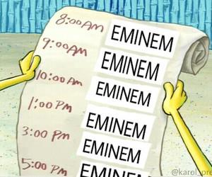 eminem, funny, and music image
