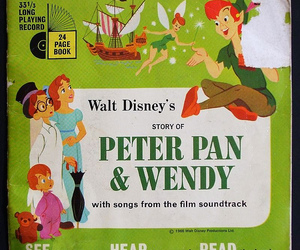 disney, peter pan, and record image