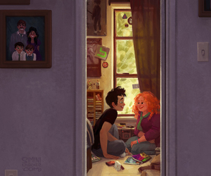 book, eleanor and park, and rainbow rowell image