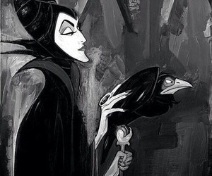 disney, maleficent, and sleeping beauty image