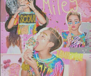 cyrus, edit, and miley image