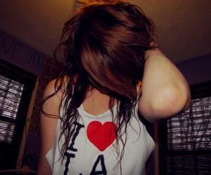 (:, girl, and hair image
