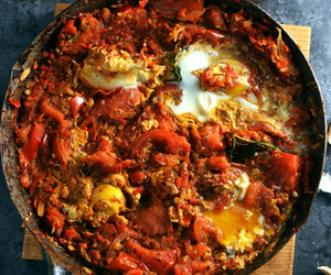 eggs, rosemary, and tomato image