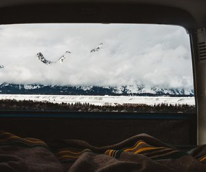 mountains and travel image