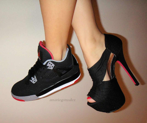 jordan, girl, and heels image