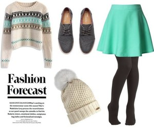 bright, Polyvore, and skirt image