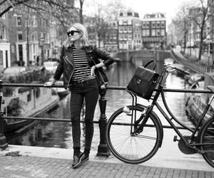bike, fashion, and girl image