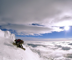 snowboarding and backcountry image