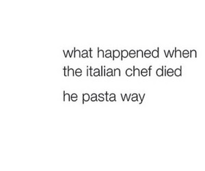 funny, pasta, and black image