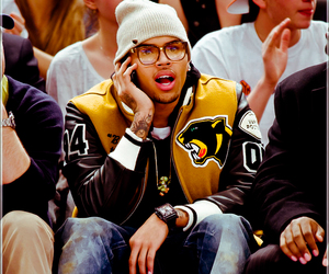 breezy, candid, and chris brown image