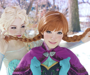 frozen, cosplay, and elsa image
