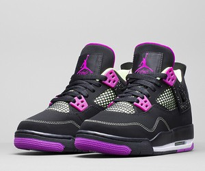 design, purple, and sneakers image