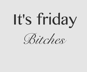 bitches and friday image