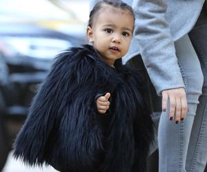 baby girl, kardashian, and fashion image