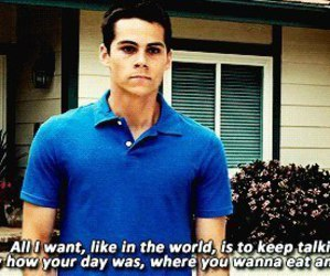 quote, the first time, and dylan o'brien image