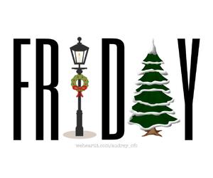 christmas and friday image