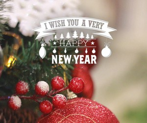 christmas and happy new year image