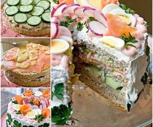recipe, sandwich, and cake design image