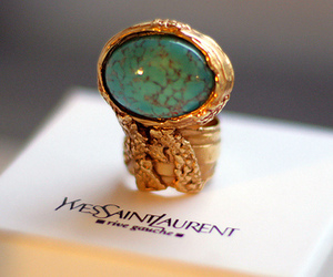 ring, Yves Saint Laurent, and fashion image