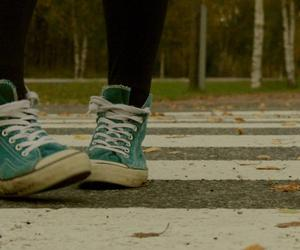 autumn, photography, and shoes image