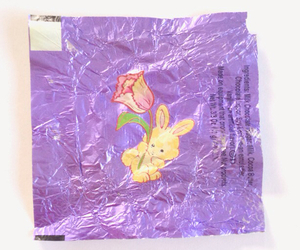 bunny, chocolate, and package image