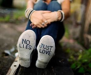 love, lies, and shoes image