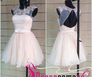 cocktail dress, party dress, and tulle dress image