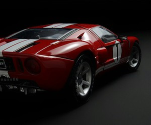 car, gt, and red image