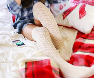 bed, cocooning, and home image