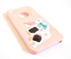accessories, blue bow, and case image