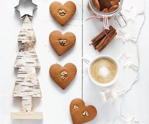 art, christmas, and coffee image