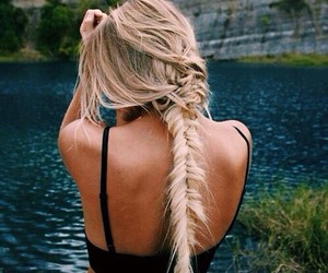 beautiful, nature, and blonde image