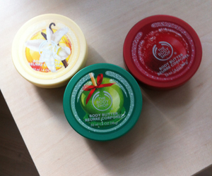 body butter, flavors, and the body shop image