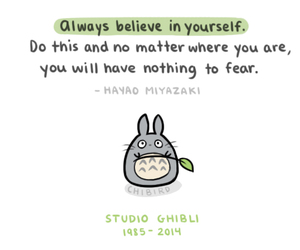 totoro, studio ghibli, and quotes image