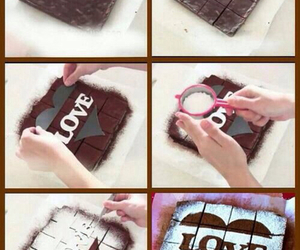 cake, love, and chocolate image