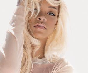 rihanna, hair, and blonde image