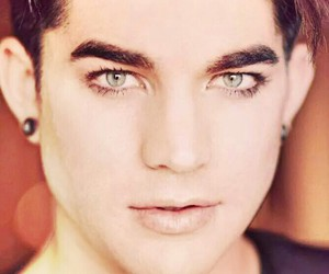 adam lambert, glambert, and eyes image